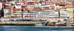 Porto; Waterfront (drasphotography) Tags: porto portugal waterfront oldtown travel travelphotography reise reisefotografie douro river ufer drasphotography nikon d810 nikkor2470mmf28 cityscape