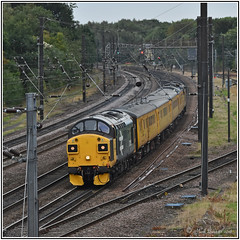 37025 2018 09 22 Holgate 0016* (Mark's Train pictures) Tags: class37 37025 colas colasrailfreight