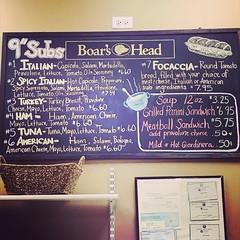 Sandwich Shop - 2 (booboo_babies) Tags: blackboard chalkboard sandwiches food chicago bakery submarinesandwiches restaurant sign foodporn foodie illinois