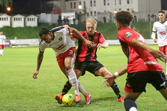 Lewes 2 Kings Langley 1 FAC replay 26 09 2018-477.jpg (jamesboyes) Tags: lewes kingslangley football nonleague soccer fussball calcio voetbal amateur facup tackle pitch canon 70d dslr
