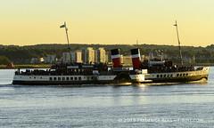 PS Waverley (© Freddie) Tags: essex thurrock grays heritagewharf thames riverthames ingresspark greenhithe pswaverley paddlesteamer steampowered fjroll ©freddie