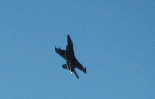 F-18 over Tain Range, Scottish Highlands