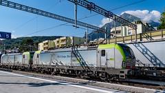 BLS Re 475s 402 & 401 Spiez 07 July 2018 (8) (BaggieWeave) Tags: switzerland swisstrains swissrailways spiez berneseoberland cantonbern vectron bls ch