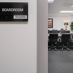 Oxford Exec Suites - Boardroom Sign