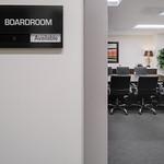 Oxford Exec Suites - Boardroom Sign