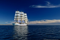 DSC_7280 (yuhansson) Tags: фрегат херсонес море чёрное парусник крым паруса парус корабли корабль путешествие путешествия югансон юрий boat sea sky water vessel ship sailing новыйсвет судак