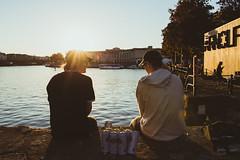 Golden Hour (mattvaux7) Tags: goldenhour sunset autumn harbour city bristol canon6d sigmaartlens