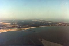 Beadon Creek and Onslow Aerial (Serendigity) Tags: onslow westernaustralia ocean australia coastal film aerial 35mm town sea au