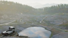 10-12-2018_12-43-26_AM (Brokenvegetable) Tags: forza horizon 4 turn10studios microsoft playground games videogame photomode photography volvo iron knight semi truck racing