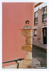Lisbon (Eva Eysermans) Tags: analog analogue film 35mm pentax street art streetart grafitti portugal lisbon travel city