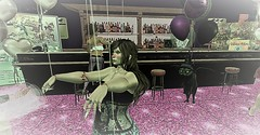 WA Pinktober Party (Angel Rainbow Girl) Tags: msabc wa ~wa~plaza pink breast cancer party bar donations