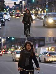 [La Mia Città][Pedala] (Urca) Tags: milano italia 2018 bicicletta pedalare ciclista ritrattostradale portrait dittico bike bicycle nikondigitale scéta 115921