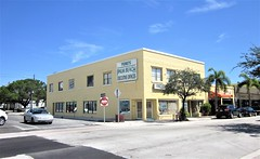 Palm Beach Executive Offices 9747 (Tangled Bank) Tags: downtown lake worth florida urban city old classic heritage vintage street photography commercial building structure architecture office professional
