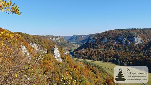 Blick vom Eichfelsen ins Donautal