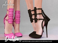 "Phedora. for Kinky Event - ""Dahlia V2"" heels ♥ (Celena Galli ~ phedora.) Tags: sl secondlife second life phedora 3d mesh shoes brand heels platforms shoewear womenswear pumps woman women sexy sassy stylish classy cute chic kinky kawaii fashion event monthly events original content 100mesh new release newrelease meshbody hud multihud maitreya lara belleza isis freya venus slink hourglass physique shopping shopaholic shappaholic straps ankle booties sportswear streetwear cuffs ankleboots urban funky heel strappy style strappyheels kinkyevent kinkyyy avatar female femaleavatar femaleavi footwear"