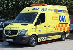 061 Galicia (emergenciases) Tags: emergencias españa 112 galicia pontevedra bueu vehículo coche ambulancia sanitarios svb soportevitalbásico mercedes sprinter 061galicia urgencias urgenciassanitarias
