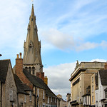 Skyline of an English town thumbnail