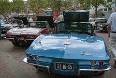Oldtimerdag Medemblik 2018 (Okke Groot - in tekst en beeld) Tags: chevroletcorvette dz1065 convertible medemblik nederland