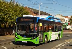 CT4N LJ18FGX (SRB Photography Edinburgh) Tags: ct4n nottingham buses bus council beeston eco enviro transport travel