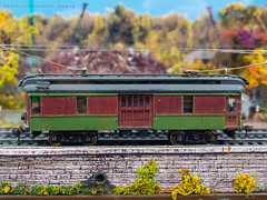 the trolley (contemplative imaging) Tags: 2018 autumn fourthirds layouts 43 trains space railroads indoors wi hall 20181111 models railways model contemplativeimaging modelrailroading westallis olympus exhibition scale milwaukee ep5 indoor november citrn20181111ep5 digital sunday falltrainfest oly1454mk2 wisconsin usa midwest midwestern ronzack miniature milwaukeecounty photography