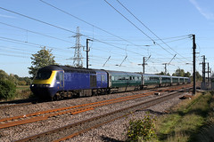 43133,136 5S03  skelton 27.09.2018 (Dan-Piercy) Tags: class43s hst 43133 43136 skelton ely papworth sidings aberdeen clayhills carmd empty stock move ecml