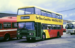 Slide 125-69 (Steve Guess) Tags: barbsley south yorkshire england gb uk bus traction leyland olympian semicoach dualpurpose c617anw