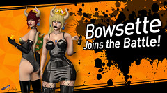 -68- Bowsette (SL: themissz resident) Tags: blog blogger blogging bowsette boosette nintendo meme riot uber joins battle taketomi latex sexy women ladies girls lady woman girl horns turtle shell mario super princess peach pink fuel suicidal unborn nerdy elf nerdyelflady lotd lookoftheday sllooksgoodtoday vilenna catwa slink maitreya 3d mesh leather fishnet gloves sl secondlife second life game gaming smash bros