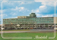YUL09 (By Air, Land and Sea) Tags: airport postcard montreal quebec canada yul dorvalairport dorval