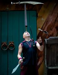 Arron Bonk - Swords (Modymark) Tags: show faire renaissance swords juggling
