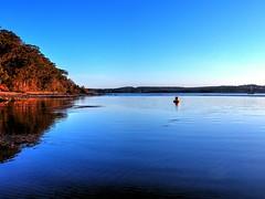 Tranquility (elphweb) Tags: hdr highdynamicrange nsw australia seaside water beach sand sandy patterns sea ocean bay creek salt