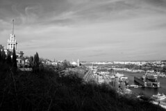 White wall (Alexander Oleynik) Tags: sevastopol dock panorama boat yachts street architecture blackandwhite blacksea theater grass