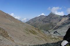 vue arrière sur le val des Dix (bulbocode909) Tags: valais suisse valdesdix montagnes nature paysages rochers sentiers vert bleu nuages groupenuagesetciel