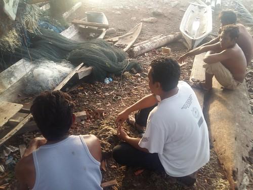 Interview with Fishermen in Santigi