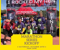 Are you interested in having fun while training for a 10k, half marathon, or full marathon? Join us for our official Marathon Series Kickoff Training Saturday, October 20th from 9am to 12pm. This is a REQUIRED training for all interested in participating. (YouthRunNOLA) Tags: youthrun running youth empowerment nola
