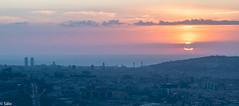 Barcelona (salo75) Tags: catalunya 105vr28 cielo nikon barcelona leefilters paisaje bigstopper landscape amanecer nikond5500 clouds