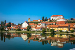 More reflections after the sun has risen, and still beautiful in Ptuj Slovenia.