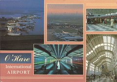 ORD36 (By Air, Land and Sea) Tags: airport postcard ord chicago illinois ohareinternationalairport aircraft airplane airline