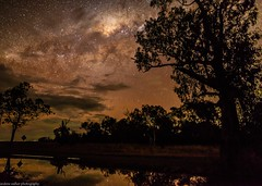 stars after the rain 2 (andrew.walker28) Tags: rain reflections milky way galactoc centre center core starlight night sky long exposure darling downs queensland australia