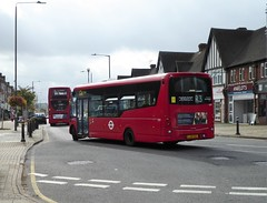 """The rear of WS9 LJ12 CGZ on route R3, 19th September 2018. (Tom """"ROUNDABOUT Bus Preservation"""") Tags: bus lj12cgz"""
