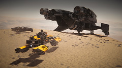 Checkpoint (Corsair62) Tags: star citizen game screenshot squadron 42 flight space ship cig robert industies pc ingame shot simulator video wallpaper corsair62 photography reclaimer 4k 219 gaming image scifi foundry cloud imperium games people photo olisar station dragonfly yellowjacket mountain road