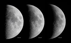 Three Days (tbird0322) Tags: astronomy astrophotography moon luna lunar mewlon takahashi solarsystem canon