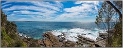 Seascape (Bear Dale) Tags: ulladulla southcoast new south wales shoalhaven australia beardale lakeconjola fotoworx milton nsw nikon d850 photography framed nature seacape nikkorafs1424mmf28gedif