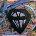 """The Diamond of Destiny"" by Kathryn T, acrylic $30.00"