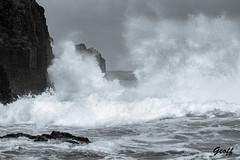 Great Big Sea (gwhiteway) Tags: great big sea middle cove beach st johns newfoundland labrador canada nature ocean atlantic waves crashing rocks tourist tourism beauty