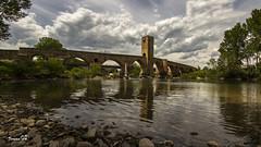 Frias. Puente medieval (tguema) Tags: medieval frias