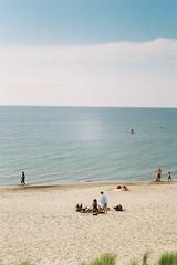 F2620022 (miglebeatrice) Tags: filmphotography film filmcamera 35mm sea beach seaside colour color road