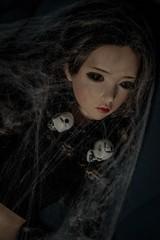 Yuwen06 (zomboi) Tags: iplehouse bjd abjd asian ball jointed doll soa voodoo halloween spider web