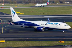 Blue Air (ab-planepictures) Tags: flugzeug dus düsseldorf eddl flughafen airport aircraft plane aviation planespotting blue air boeing 737