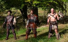 Norse Dragon Armoury (Mr_Souter) Tags: 2018 autumn october shieldmaiden 6th 7th warrior vikings scotland models berskerker norsedragonarmoury worldofwings places europe uk cumbernauld