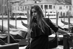 Tatiana (Harry Pesq) Tags: fashion hair swag blackwhite female woman style summer sexy lips eyes blonde venice
